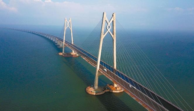 港珠澳大桥将于2018年10月24日上午9时正式通车