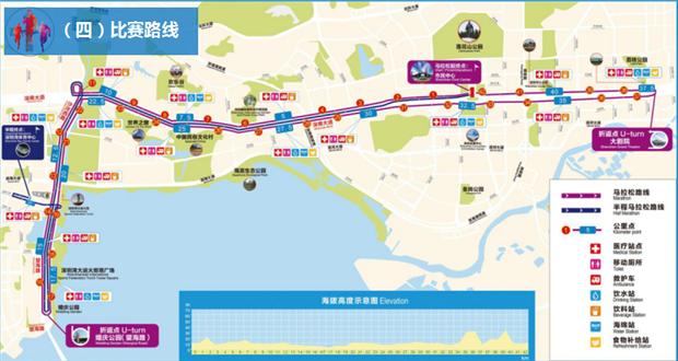 深圳马拉松12月16日开跑 这些路要封